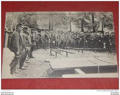 MILITARIA  FRANCE - GUERRE 1914-1918 - Enterrement D'un Prisonnier Français à Gmünd  (Wurtemberg) - Guerra 1914-18
