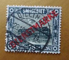 Saar Dienstmarke Michel 15, Gestempelt °, / Scott O14 Cancelled / Yvert & Tellier S14 Oblitéré Dillingen - Dienstmarken