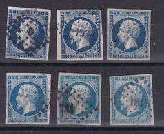 D 239 / LOT NAPOLEON N° 14 OBL - 1853-1860 Napoleon III