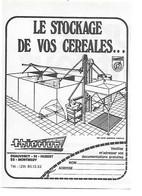 PUB 1979 AGRICOLE 55 MONTMEDY CHAUVENCY Meuse Stockage Céréales Thiérion - Werbung
