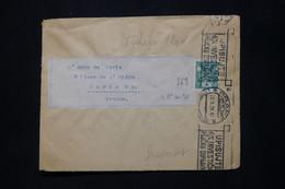 TCHÉCOSLOVAQUIE - Devant D' Enveloppe De Praha En 1921 Pour Paris - L 79906 - Cartas