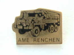 PIN'S CAMION - AME RENCHEN - Transportation