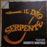 LP 33 Augusto Martelli - Il Dio Serpente – Cinevox Record ORL 8044 (52) - Andere
