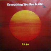 LP 33 Rasa - Everything You See Is Me - Govinda Rec. 1978 (55) - Zonder Classificatie