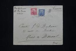 BRÉSIL - Devant D'enveloppe Pour La France En 1907 - L 79910 - Briefe U. Dokumente