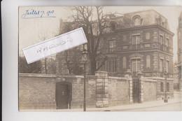 CPA PHOTO - 75 - PARIS (16ème) - Rue Faustin Hélié, Très Beau Bâtiment Peut-être école De Musique Suivant Corre - RARE - - Distrito: 16