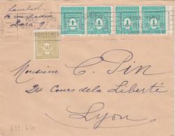 ARC DE TRIOMPHE UNICOLORE 50C + 2 PAIRES DU 1F 1947 - 1921-1960: Periodo Moderno