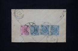 AUTRICHE - Enveloppe De Praha Pour La France En 1903, Affranchissement Au Verso - L 79916 - Cartas