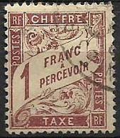 France Taxe N°40 - Oblitéré 1893-1935 - 1859-1955 Used