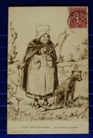 TYPES SAINTONGEAIS... LA GARDEUSE D'OUEILLES....GIN1198 - Non Classés