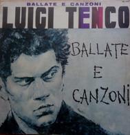 LP 33 Luigi Tenco – Ballate E Canzoni – Joker SM 3180 (64) - Andere - Italiaans