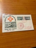 Émission Croix Rouge 1952 - La Croix Rouge Et La Poste - Rode Kruis
