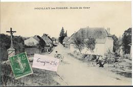 POUILLEY Les VIGNES Route De Gray - Andere Gemeenten