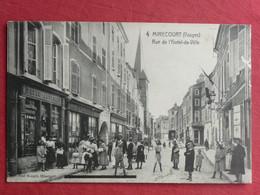 CPA VOSGES 88 MIRECOURT- RUE DE L'HOTEL DE VILLE - Carte Postale Ancienne - Mirecourt