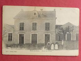 CPA VOSGES 88 BAINS LES BAINS - L'ECOLE DES FILLES - Carte Postale Ancienne - Bains Les Bains