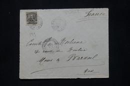 BRÉSIL - Devant D' Enveloppe Pour La France En 1909  - L 79922 - Briefe U. Dokumente