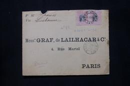 BRÉSIL - Devant D' Enveloppe De Rio De Janeiro Pour La France En 1896 Par Bateau Via Lisbonne - L 79924 - Briefe U. Dokumente
