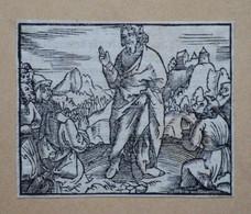 Gravure Sur Bois Ca. 1530. - Prenten & Gravure
