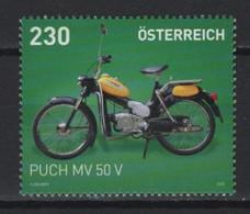 Austria (2020) - Set -  /  Moto - Motorbike - Puch MV 50 V - Motorbikes