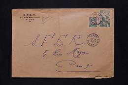 ALGÉRIE - Enveloppe Commerciale D'Alger En 1950 Pour Paris - L 79929 - Lettres & Documents