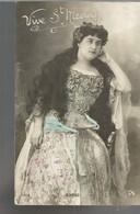 CE /  Vintage  Postcard Actress Theater / CPA Actrice Théâtre Opera // BORGO Saint Nicolas / Voyagée BRIGADIER COMPIEGNE - Artistes