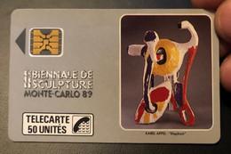 Télécarte / Phonecard Monaco - Mónaco