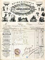 44.NANTES.QUINCAILLERIE L.LORFRAY & DUROUSIER. - Unclassified