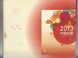 CHINE .  YT  Album Année  2013  102 Timbres- 6 Blocs  Neuf ** (voir Détail) - Ongebruikt