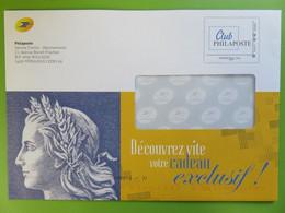 PAP - Entier Postal - Club Phil@poste - Philaposte - International 250 G - République De Cheffer - 2020 - Prêts-à-poster:Stamped On Demand & Semi-official Overprinting (1995-...)