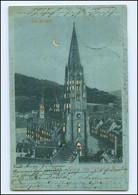 Y14457/ Gruß Aus Freiburg Halt Gegen Licht AK Mondschein 1900 - Non Classificati