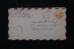 ETATS UNIS - Entier Postal Par Avion D'un Soldat Pour Les Etats Unis En 1945 Avec Cachet De Censure.- L 79934 - Briefe U. Dokumente