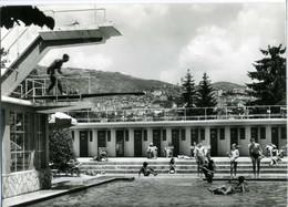 FIUGGI  FROSINONE  La Piscina  Tuffi Dal Trampolino - Frosinone