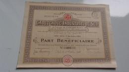 CAOUTCHOUC INDUSTRIEL DU SUD (nice) - Zonder Classificatie