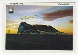 {84120} Costa Del Sol , Vue Nocturne Du Rocher De Gibraltar - Gibraltar