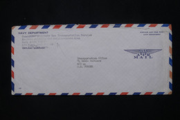 ETATS UNIS - Enveloppe En Fm Pour La Base Américaine En France à Poitiers  - L 79938 - Cartas
