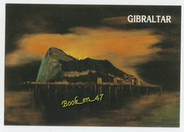 {84123} Gibraltar , Sunrise On The Rock - Gibraltar