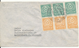 Paraguay Cover Sent To Denmark 20-10-1959 - Paraguay