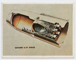 La Course à L'espace 1957 1975.section Du 2e étage De La Saturn I. Réceptacle.propulsif.réservoir Substance Combustion. - Altri