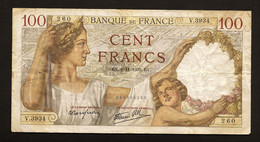 "100 Francs ""SULLY""     2 11  1939    TTB - 100 F 1939-1942 ''Sully''"