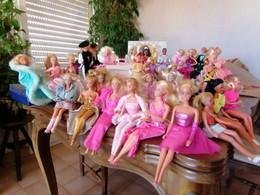 Lot De Barbies Des Années 80 à 90 - Barbie