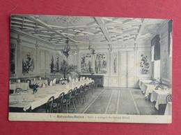 CPA VOSGES 88 BAINS LES BAINS - SALLE A MANGER DU GRAND HOTEL - Carte Postale Ancienne - Bains Les Bains