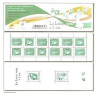 CARNET Y&T N°1521- La Lettre Verte A 3 Ans - Gommé. Neuf** - Non Plié - TB. - Usage Courant
