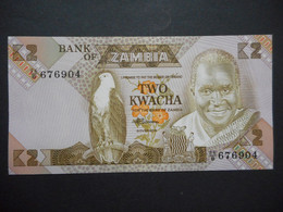 Zambia 2 Kwacha 1988 (P-24c.1) - Zambia