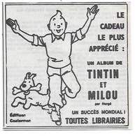 PUB 1979 BD TINTIN Et Milou - Publicidad