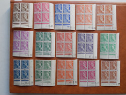 FRANCE COINS DATES 404/16A (sauf 405) NEUFS SANS CHARNIERE NI TRACE  TRES FRAIS - 1930-1939