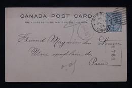 CANADA - Entier Postal De Quebec Pour Paris En 1904 - L 79947 - 1903-1954 Reyes