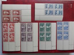 FRANCE COINS DATES 380/85 NEUFS SANS CHARNIERE NI TRACE  TRES FRAIS - 1930-1939