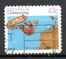 AUSTRALIE. N°1181 Oblitéré De 1990. Skateboard. - Skateboard