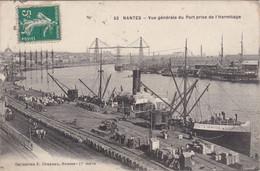 NANTES - Vue Générale Du Port E Activité - Nantes