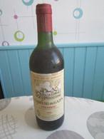 VIN 1983 BORDEAUX CHATEAU Du GAZIN Mr ROBERT SAINT MICHEL De FRONSAC (Gironde) Mis En Bouteille Au Château - Wine